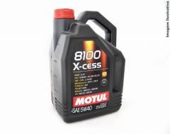 Óleo Motul 8100 X-CESS 5W40 | 5 litros