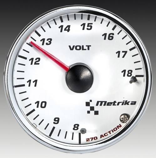 Voltímetro Metrika Isotta - mod. Action | DUB Store