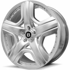 Jogo de Rodas Bentley 20x8 5x112 | Hiper Prata