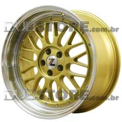 Jogo de Rodas GSW BBS LM 18x8,5 5x100 | Dourada