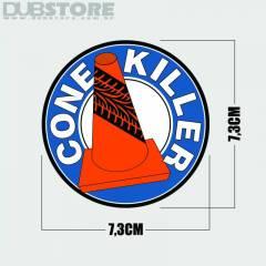 Adesivo Cone Killer 7,3x7,3cm