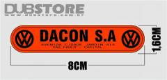 Adesivo Dacon S.A. 8x1,6cm