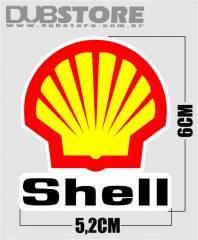 Adesivo Shell 5,2x6cm