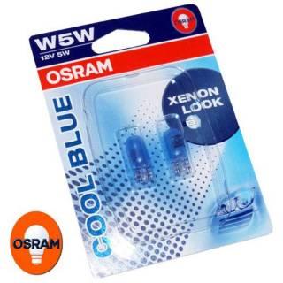 Kit Lâmpadas Osram Cool Blue - W5W Pingão | DUB Store