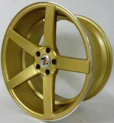 Jogo de Rodas GSW 9140 Stern 19x8,5/19x9,5 - 5x114 | Dourada