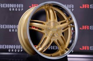 Jogo de Rodas Vittoria Breda 20x8 5x108/114 | Dourada | DUB Store