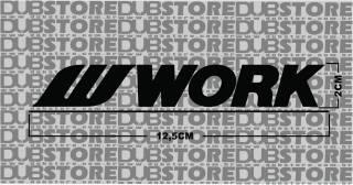 Adesivo Work Wheels | DUB Store