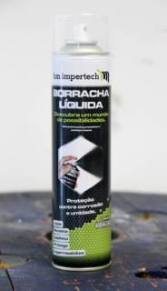 Envelopamento em Spray HM Rubber Branco Fosco   DUB Store