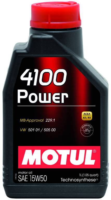 Óleo Motul 4100 POWER 15W50 | 1 litro | DUB Store