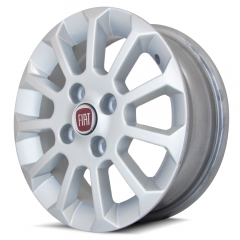 Jogo de Rodas Fiat Uno Mille Top aro 13x5 4x98 | Prata