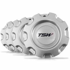 """Calota de roda TSW Kyalami 17"""" Prata"""