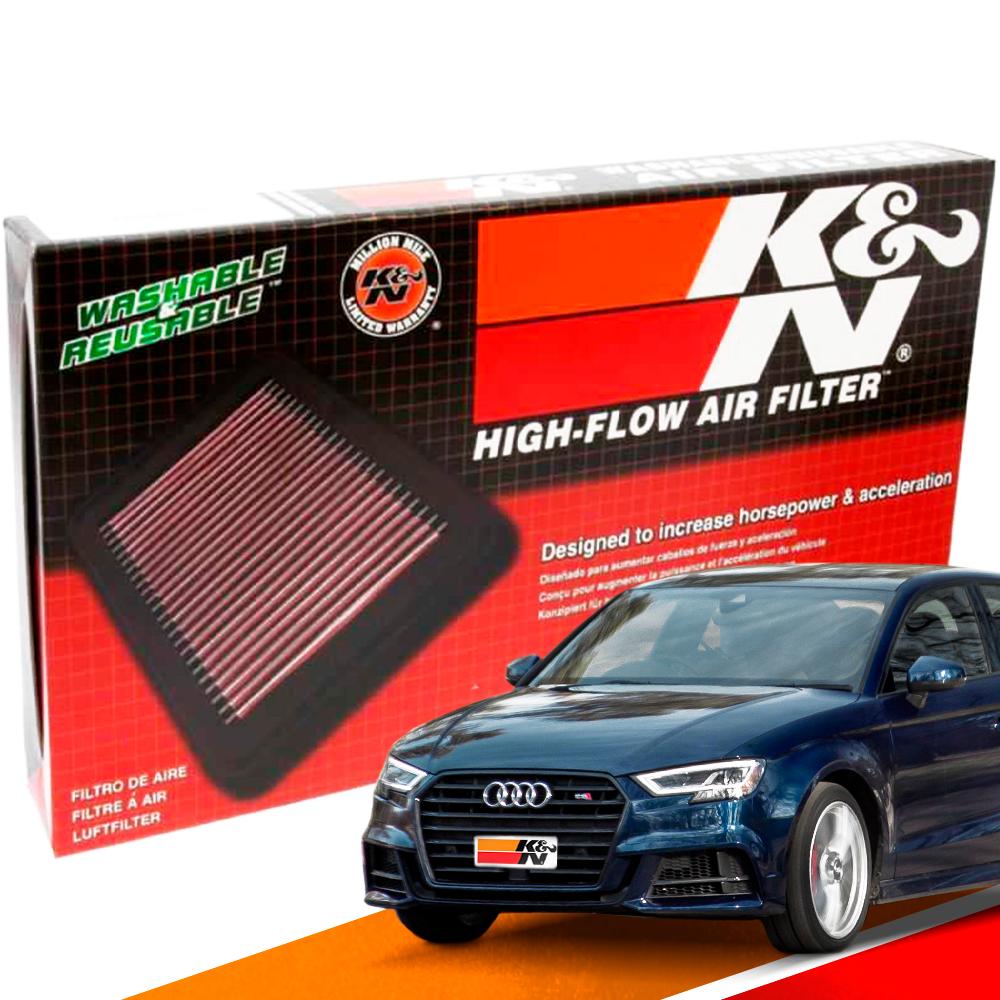 Filtro de Ar Esportivo K&N Inbox Audi S3 2.0 13/16 | DUB Store