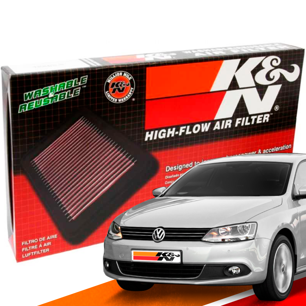 Filtro de Ar Esportivo K&N Inbox VW Jetta 2.0 TSI 2011+ | DUB Store