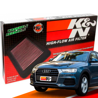 Filtro de Ar Esportivo K&N Inbox Audi Q3 2.0 TFSI | DUB Store
