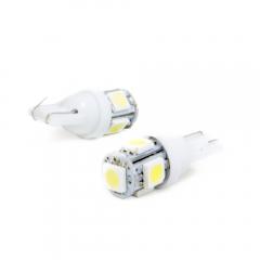 Par pingo LED Aparte Lumen T10 5 LED'S SMD 5050 / 6000K