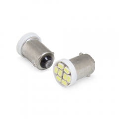 Par pingo LED Aparte Lumen BA9S 8 LED'S SMD / 6000K