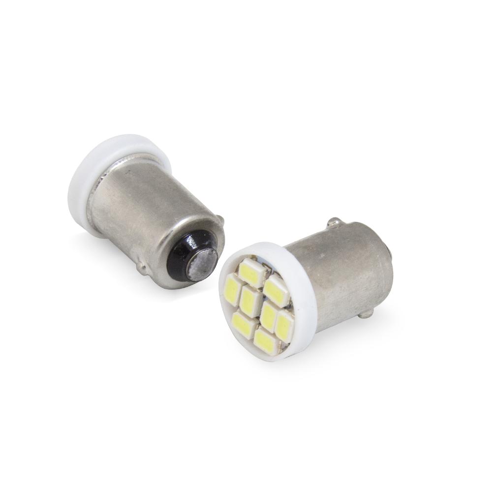 Par pingo LED Aparte Lumen BA9S 8 LED'S SMD / 6000K | DUB Store