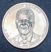 Moeda 1 Dollar Americano   Serie Presidentes