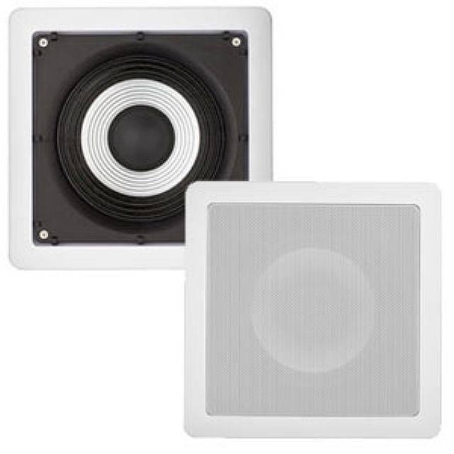 Caixa Acústica de Embutir Marinisada Quadrada SQ6-MR - LOUD