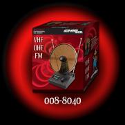 Antena Interna Tipo Mini Parabólica VHF/UHF/FM - CHIP SCE | Ilha Suportes