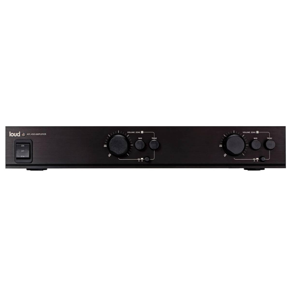 Amplificador Multi-room c/ controle de volume APL-450  LOUD