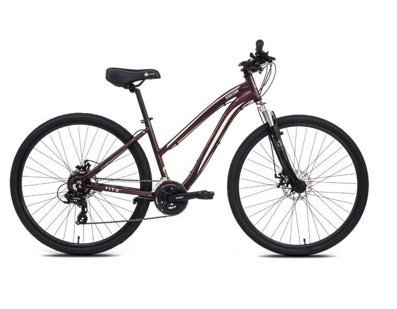 BICICLETA TITO ARO 700 DOWNTOWN DISC