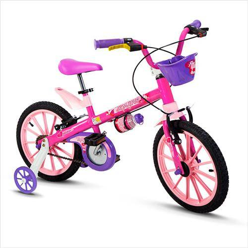 BICICLETA NATHOR ARO 16 TOP GIRLS