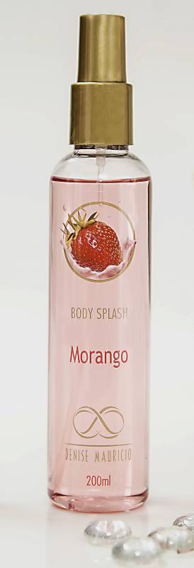 Body Splash Morango - 200ml
