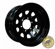 Roda Direcional Black - 15x8 (6x139)