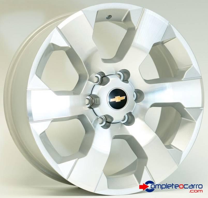 Jogo de Rodas GM S10 LTZ 2012 Aro 20' - Furação 6x139 - SD -