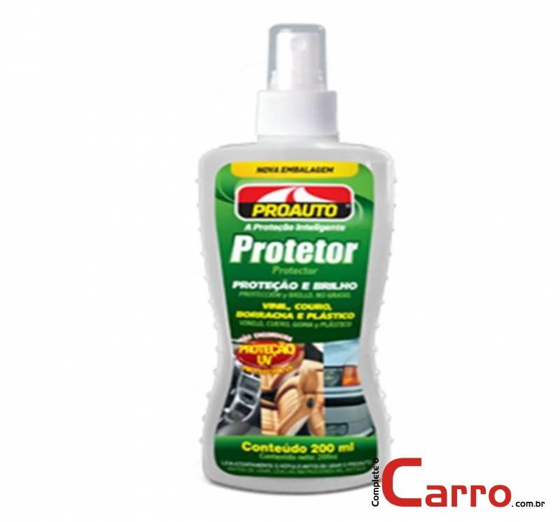 Protetor Proauto 200ml - Couro, Vinil, Borracha, Plásticos