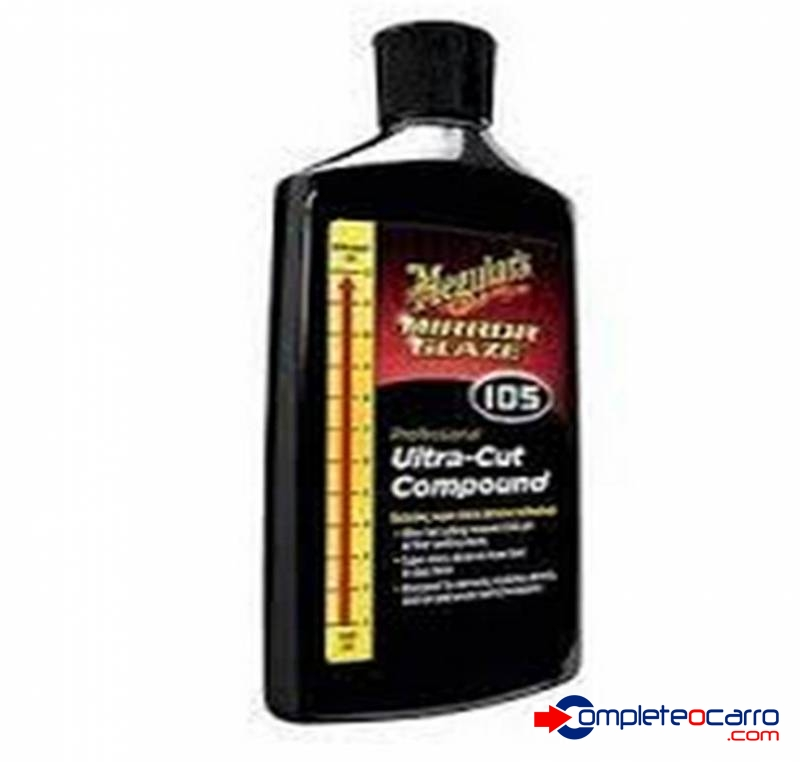 Meguiars Mirror Glaze Composto Ultra Cut Compound - 237ml -