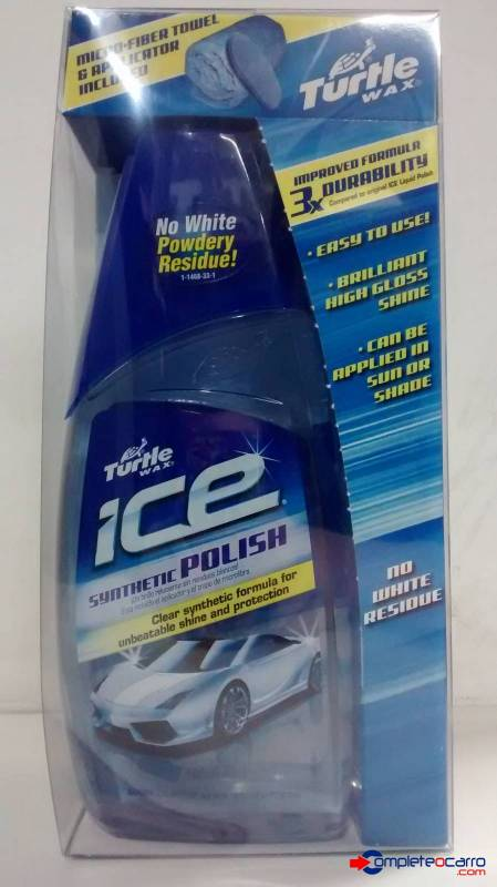 Cera Sintética Polidora Turtle Wax - Ice Synthetic Polish