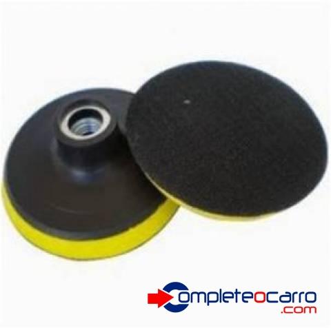 Suporte / Disco Adaptador c/ Rosca para Boinas de 8 Polegada