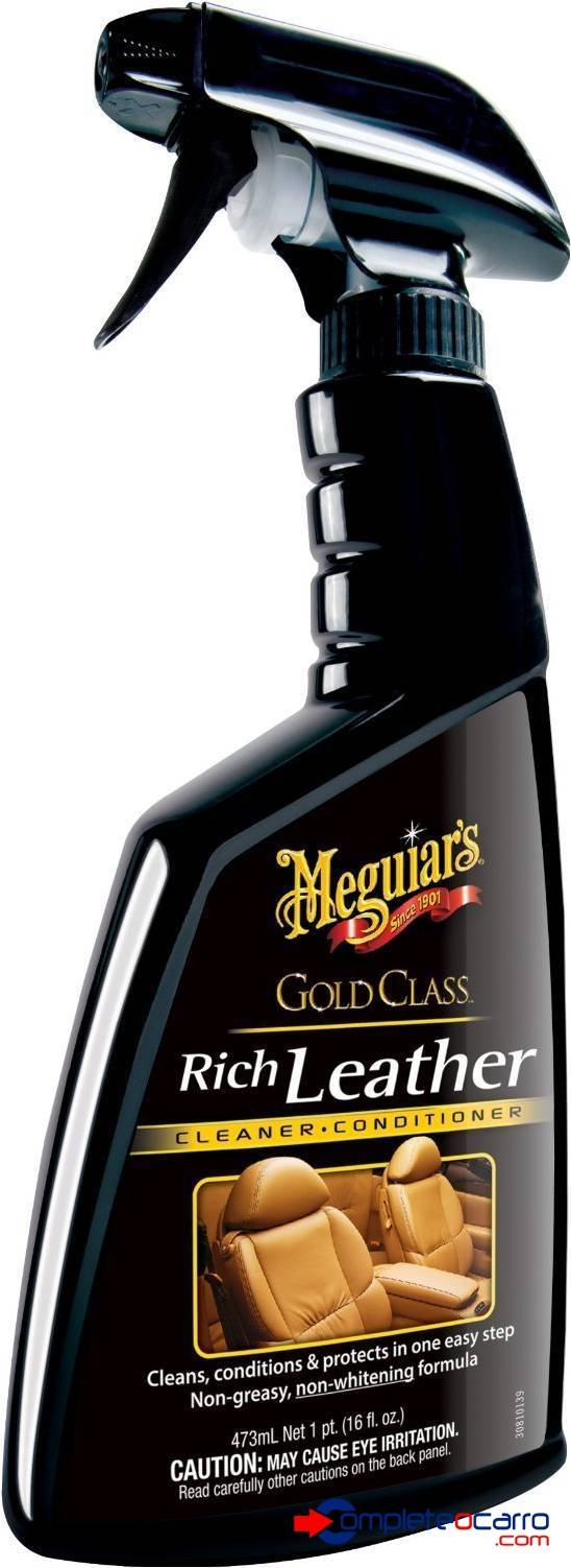 Hidratante de Couro Meguiar's - Gold Class Spray - G10916 (4