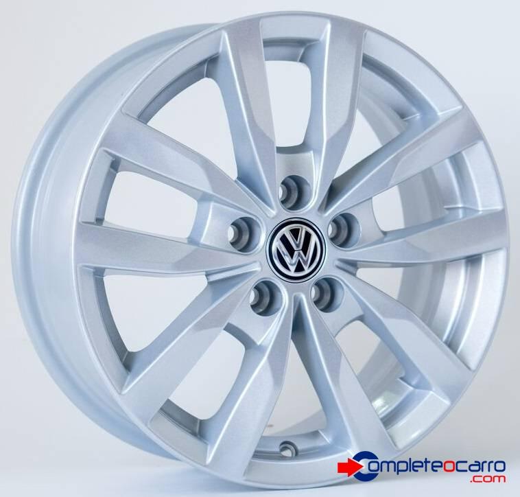 Jogo de Rodas VW Fox Prime Aro 15' - Furação 5x100 - SS - R3