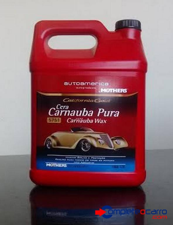 Cera Carnaúba Pura - Califórnia Gold Pure Carnaúba Wax Mothe