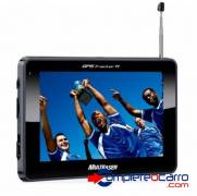 Navegador GPS Multilaser 4.3 c/ TV - Tracker III GP034