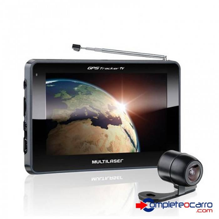 Gps Multilaser GP037 5' C/ Camera De Re + Tv + Fm