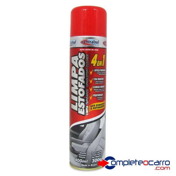 Limpa Estofados Aerossol 400 ml - 06459 - Central Sul