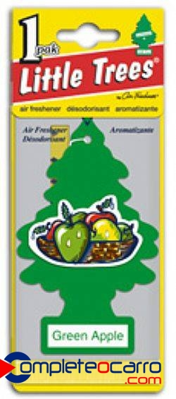 Aromatizante Little Trees - Maça Verde - Car Freshner
