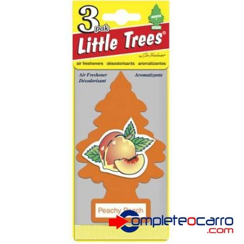 Aromatizante Little Trees - Pêssego - Car Freshner