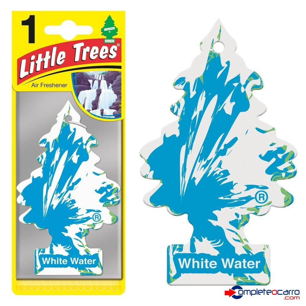 Aromatizante Little Trees - White Water - Car Freshner