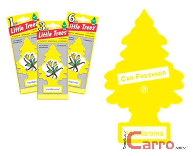 Aromatizante Little Trees - Baunilha - Car Freshner