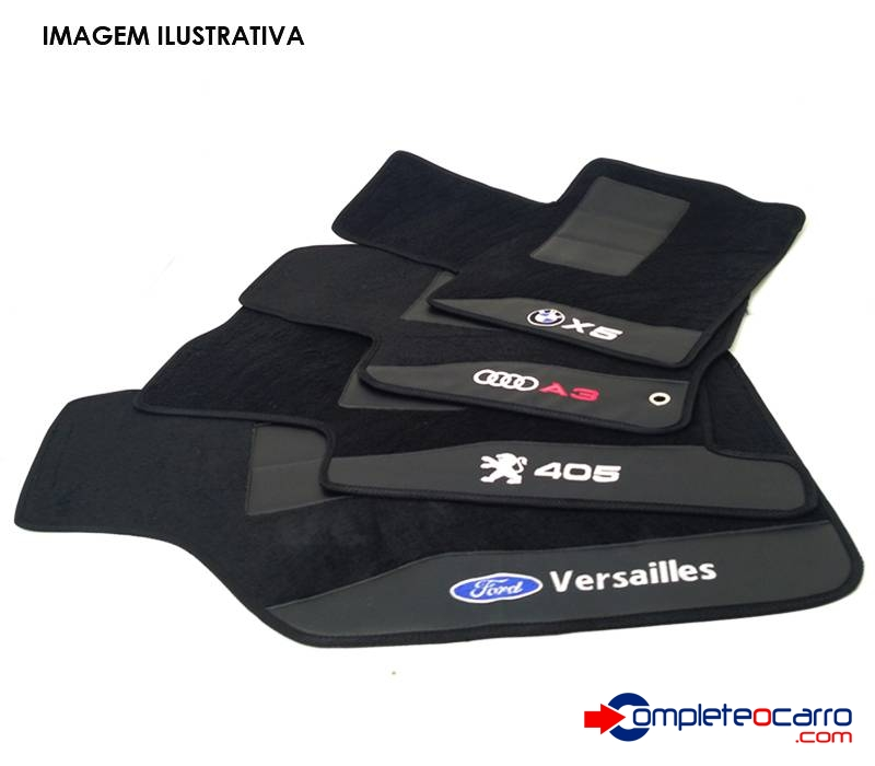 Jogo de Tapetes Personalizados Honda - CRV 2015 - 4 PÇS