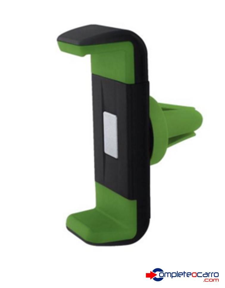 Suporte Universal Veicular Para Smartphone Verde - AC283