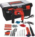 Kit Furadeira de impacto + Caixa de ferramentas com 103 itens HD500BX Black & Decker
