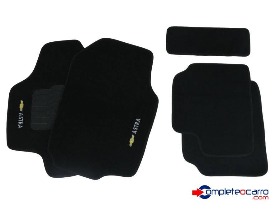 Tapete Ecológico Personalizado GM Astra 99/11 - Preto C0387