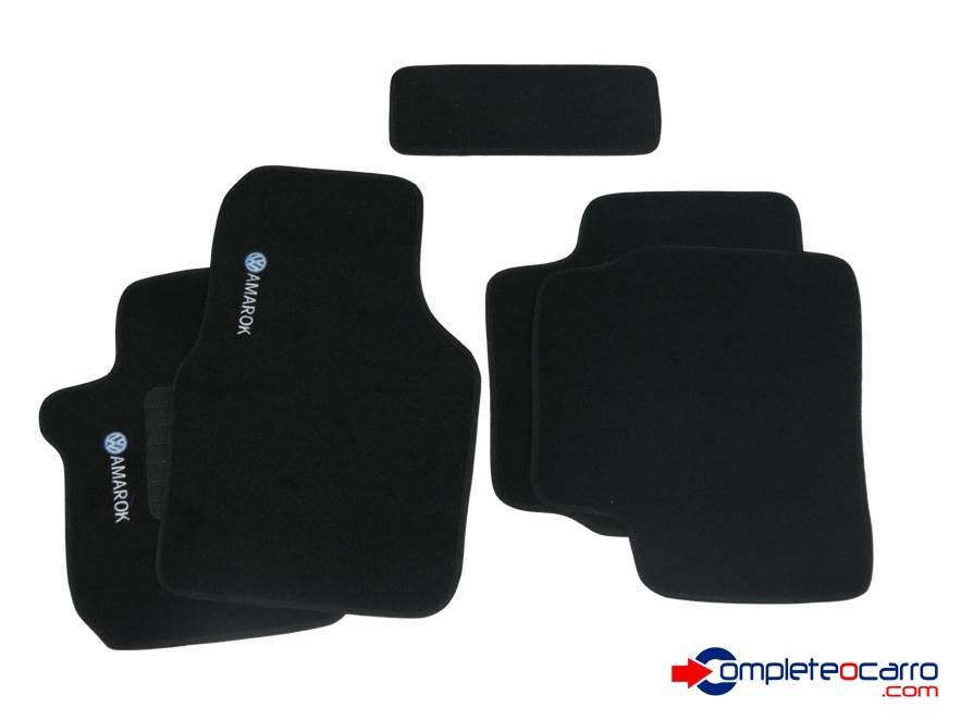 Tapete Ecológico Personalizado VW Amarok CD 10/... - Preto C