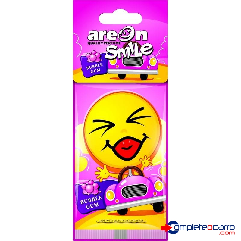 Aromatizante de Carro Areon Smile - Bubble Gum - Chiclete